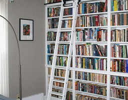 Safely accessing your mezzanine with Shelf Ladders