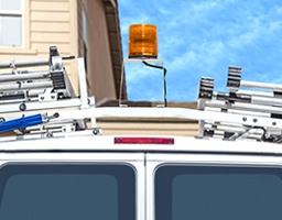 Transporting your ladder safely