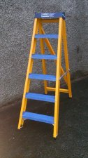Glass Fibre Swingback Steps - AFSB