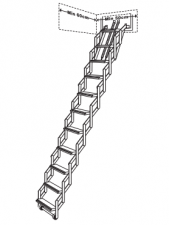 Concertina Loft Ladder - CTL