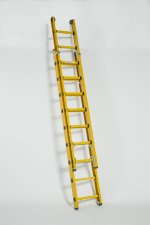 GLASSFIBRE 2 PART EXTENSION LADDER - AFD