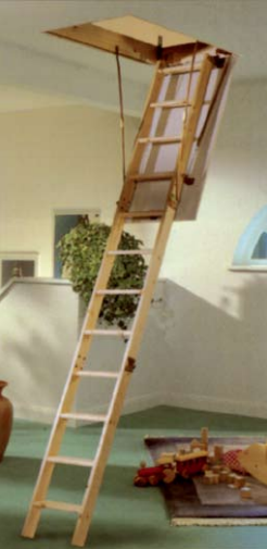 Hobby Timber Loft Ladder - TDH