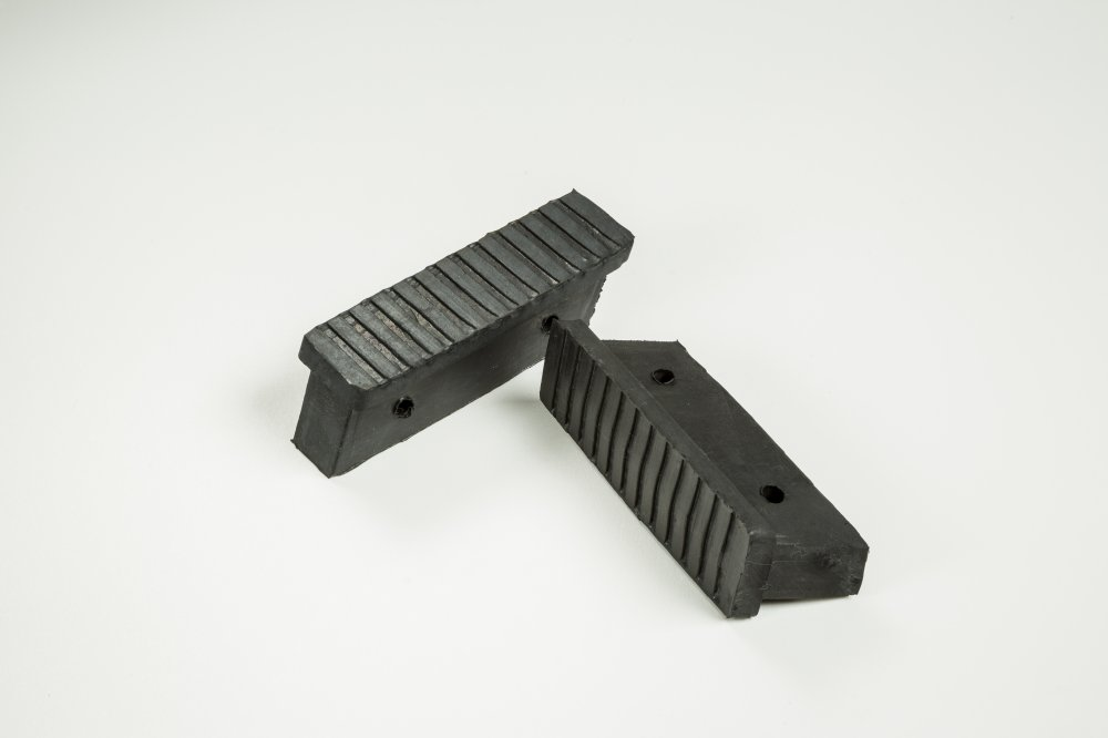 REPLACEMENT STEPLADDER FRONT FOOT - Double Hole Type